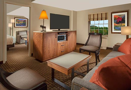 One Bedroom Suite in North Conway Grand Hotel, New Hampshire