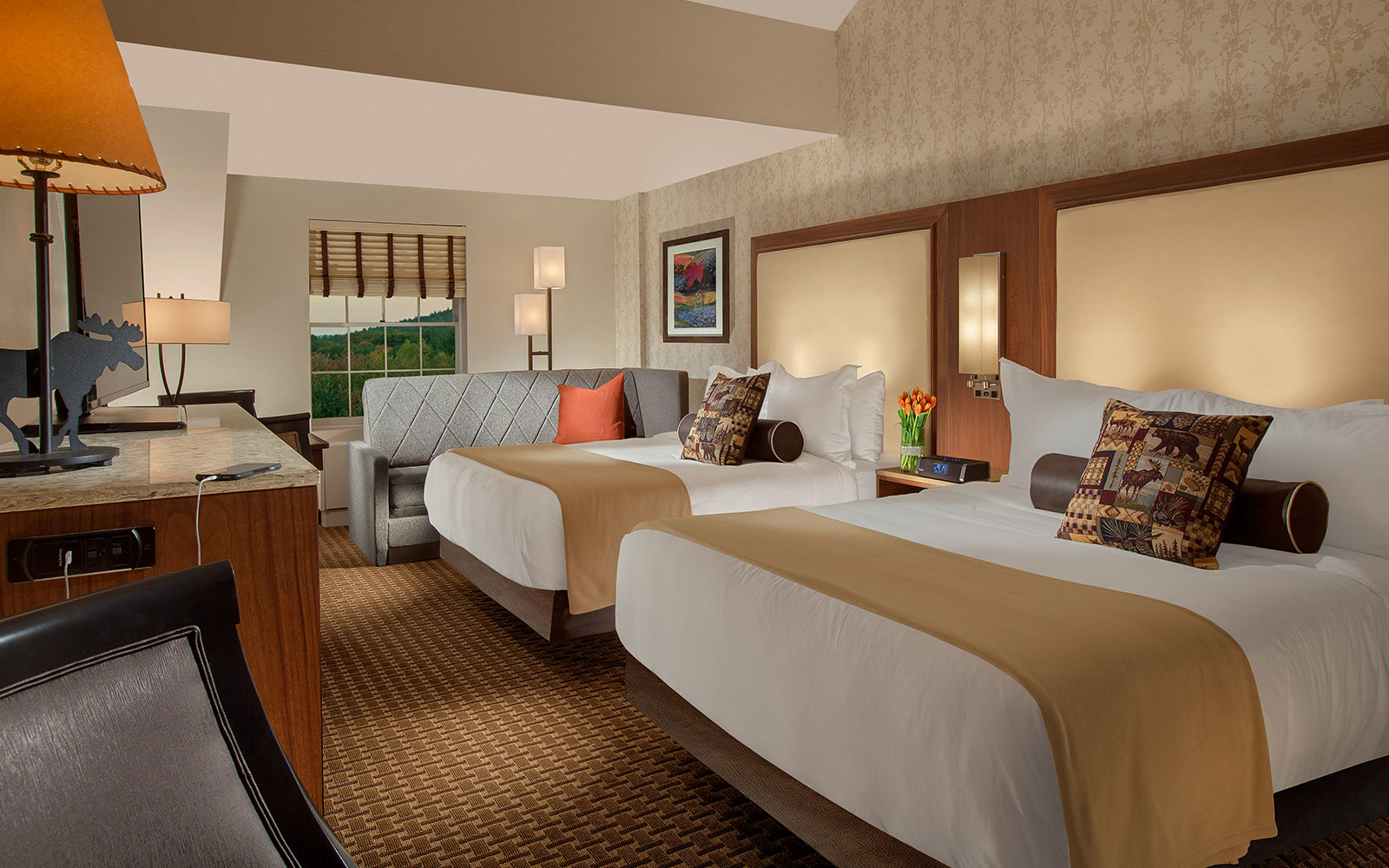 Rooms: North Conway Lodging & Hotel Suites
