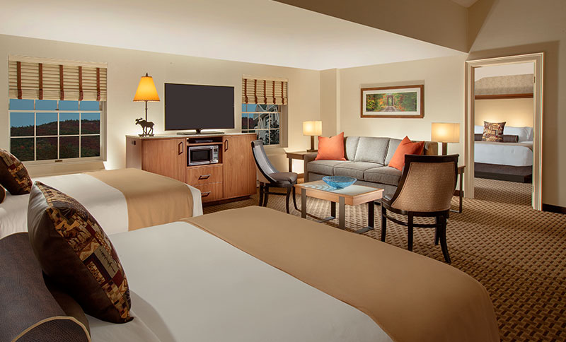 Family Suite in North Conway Grand Hotel, New Hampshire