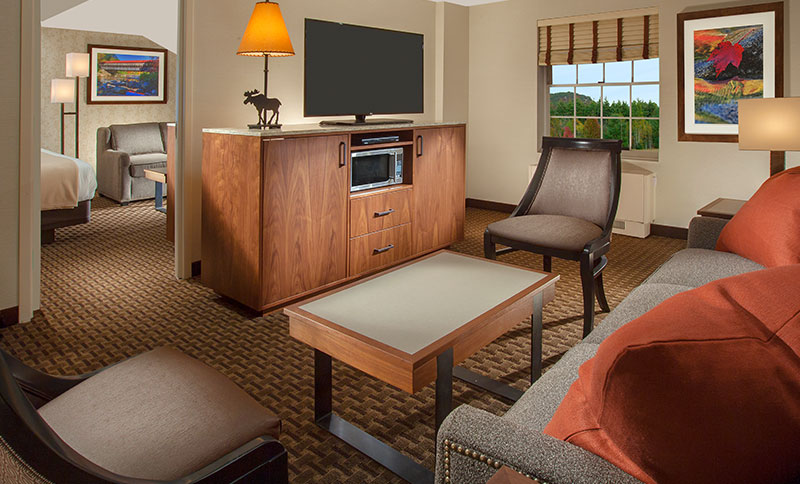 Junior Family Suite of North Conway Grand Hotel